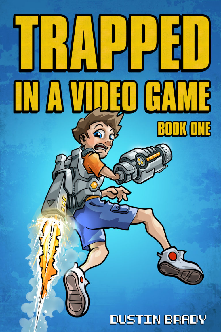 Trapped in a Video Game Kindle Cover
